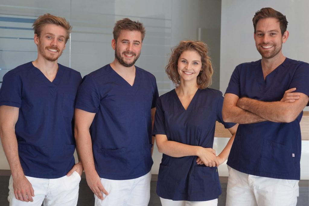 Das Ärzteteam von Dvier